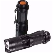 Lanterna de Led Recarregável Light Flashlight